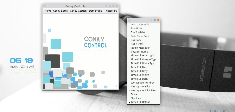 conkyX2