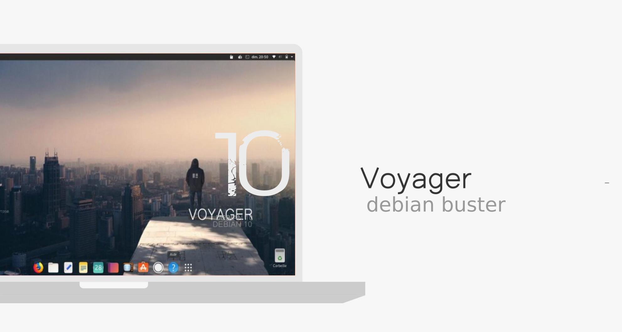 Voyager 10 Debian Buster